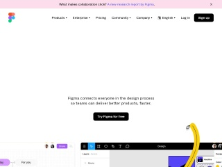 Screenshot of www.figma.com