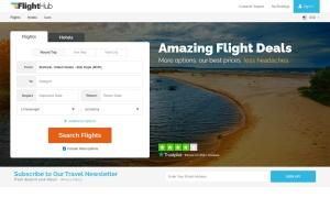 Flight Hubウェブサイトサムネイル