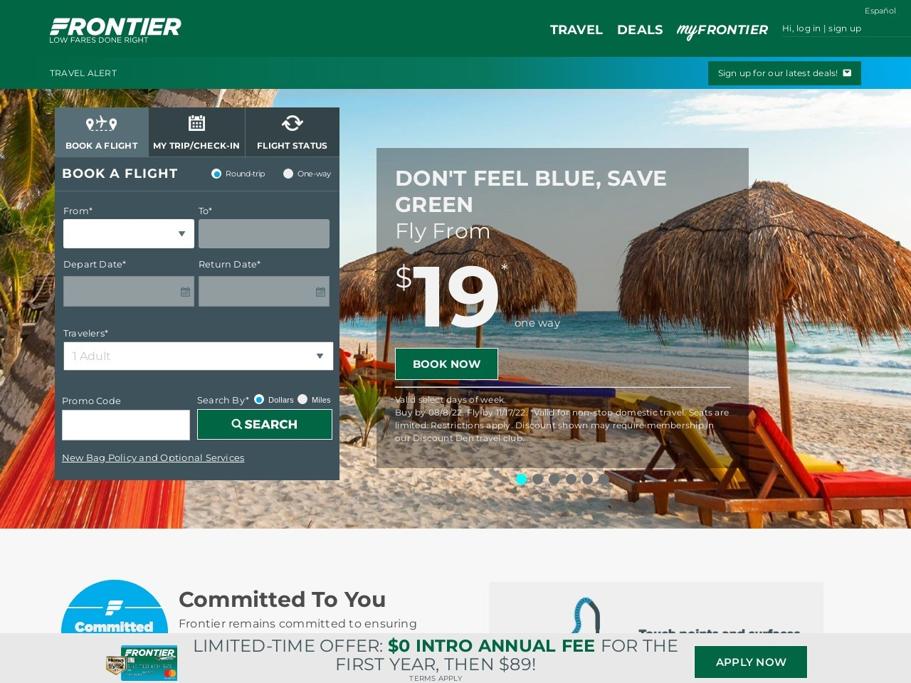 Contact Us | Frontier Airlines