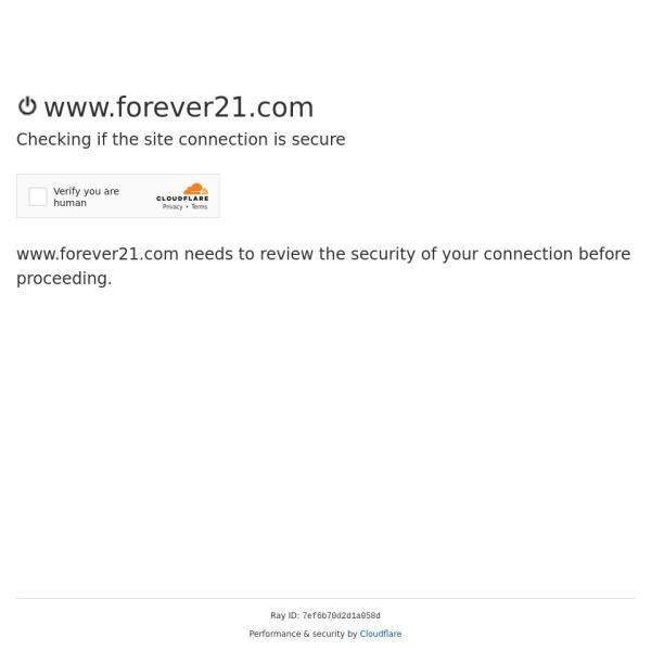Screenshot of www.forever21.com
