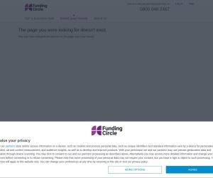 Screenshot of www.fundingcircle.com