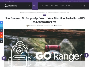 https://www.futuregamereleases.com/2018/08/new-pokemon-go-ranger-app-free/