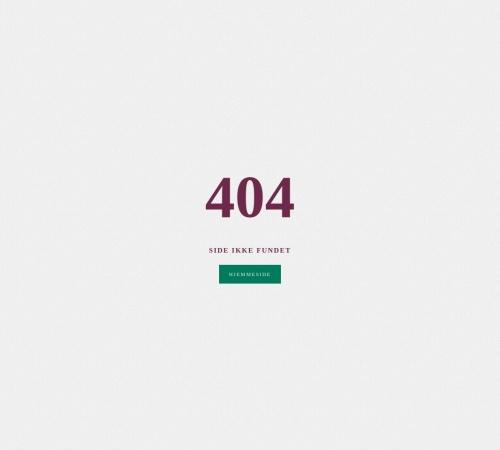Screenshot of www.globaltfokus.dk