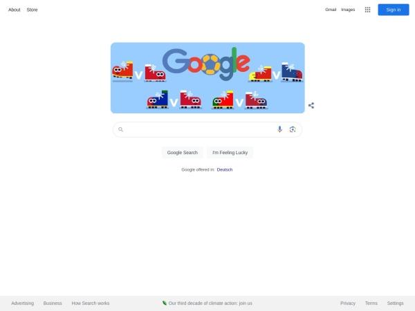 Suchmaschine Google.at