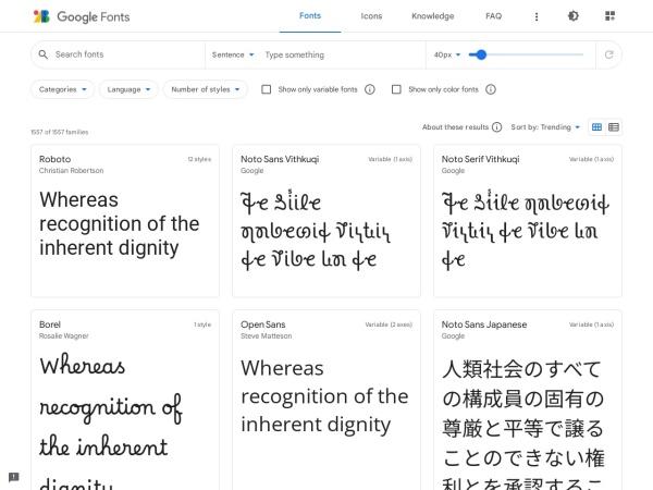 https://www.google.com/fonts