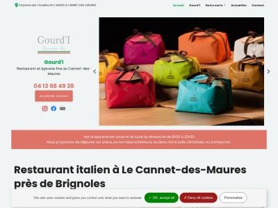 Gourd'I: Restaurant typique à l'Italie dans la ville de Le Cannet-des-Maures près de Brignoles