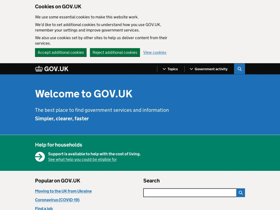 https://www.gov.uk/