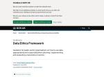 https://www.gov.uk/government/publications/data-ethics-framework/data-ethics-framework