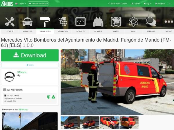 Captura de pantalla de www.gta5-mods.com