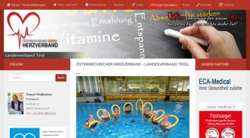 Screenshot of www.herzverband-tirol.at