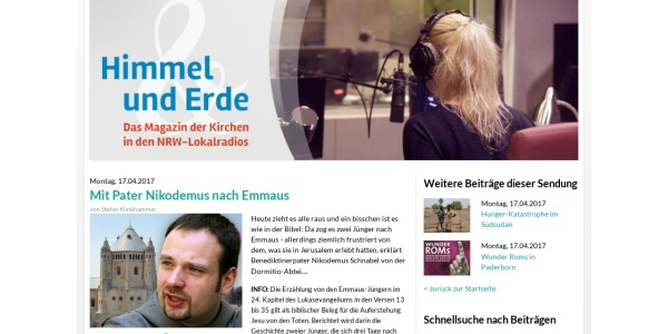 Screenshot of www.himmelunderdeonline.de