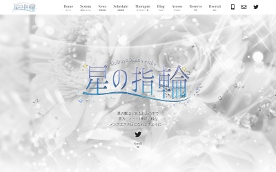 Screenshot of www.hoshino-yubiwa.com