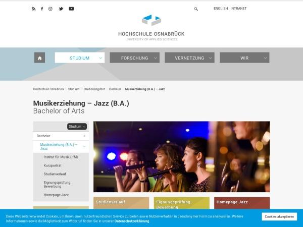 Screenshot von www.hs-osnabrueck.de