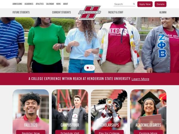 Screenshot of www.hsu.edu