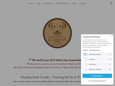 hundeschule-cordts.de