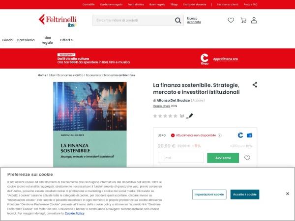 Screenshot of www.ibs.it
