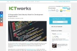 Screenshot of www.ictworks.org