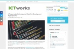 Screenshot of www.ictworks.org