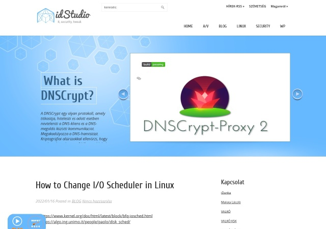 Screenshot of www.idstudio.tk