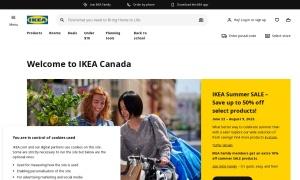 IKEAウェブサイトサムネイル
