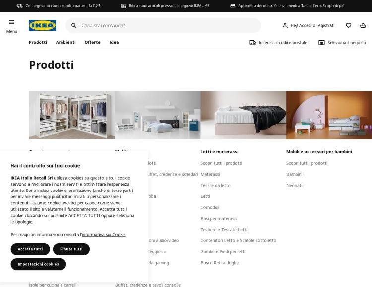 Tavolino rotondo piccolo Ikea Listerby