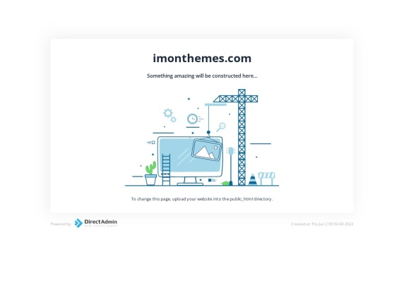 Imon Themes home page