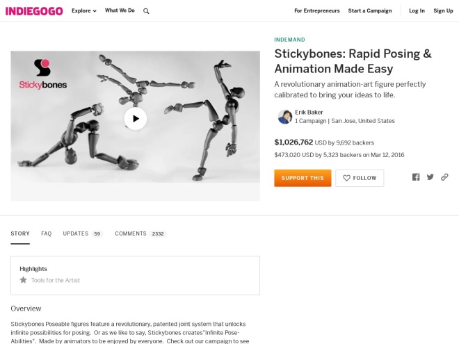 https://www.indiegogo.com/projects/stickybones-rapid-posing-animation-made-easy--3#/