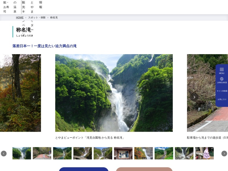 Screenshot of www.info-toyama.com