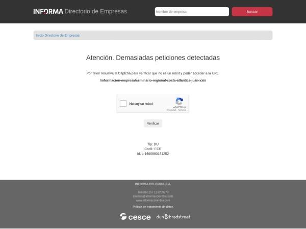 Captura de pantalla de www.informacolombia.com