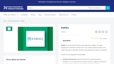 Kabiku - Marketplace Tecnológico para Abogados - Centro de ...