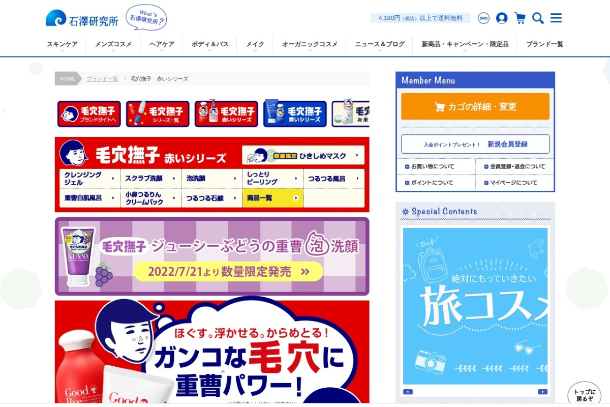 Screenshot of www.ishizawa-lab.co.jp