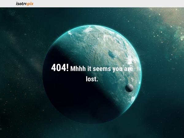 Screenshot of www.isotropix.com
