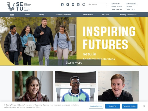 Screenshot of www.itcarlow.ie