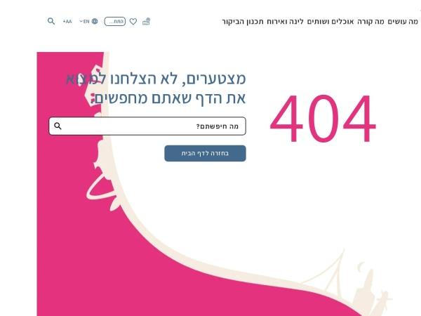 Screenshot of www.itraveljerusalem.com