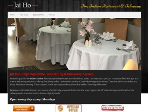 Screenshot of www.jai-ho.co.uk