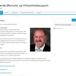 Screenshot of www.jatime.dk