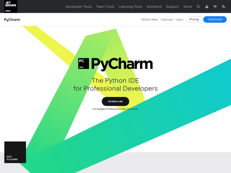 https://www.jetbrains.com/pycharm/