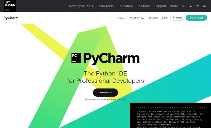 https://www.jetbrains.com/pycharm/