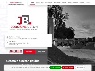JODOIGNE BÉTON, votre fournisseur de béton maigre et stabilisé spécialisé dans le versage et la valorisation des déchets de construction