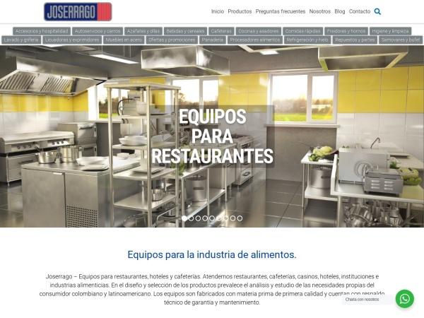 Captura de pantalla de www.joserrago.com.co