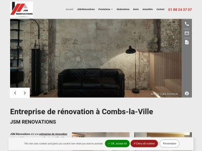Le spécialiste de la rénovation et de la menuiserie à Combs-la-Ville et ses environs
