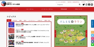 Screenshot of www.jva.or.jp