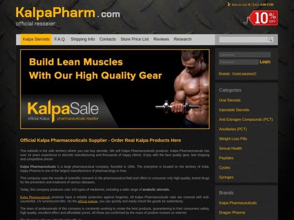 kalpapharm.com