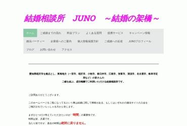 Screenshot of www.kekkonsoudanjo-juno.com