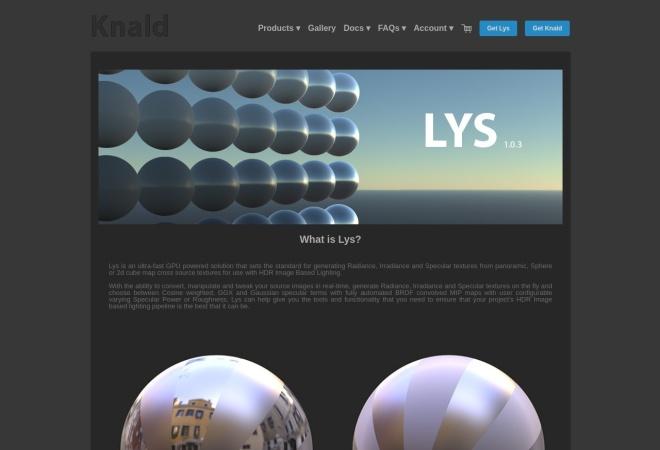 Screenshot of www.knaldtech.com