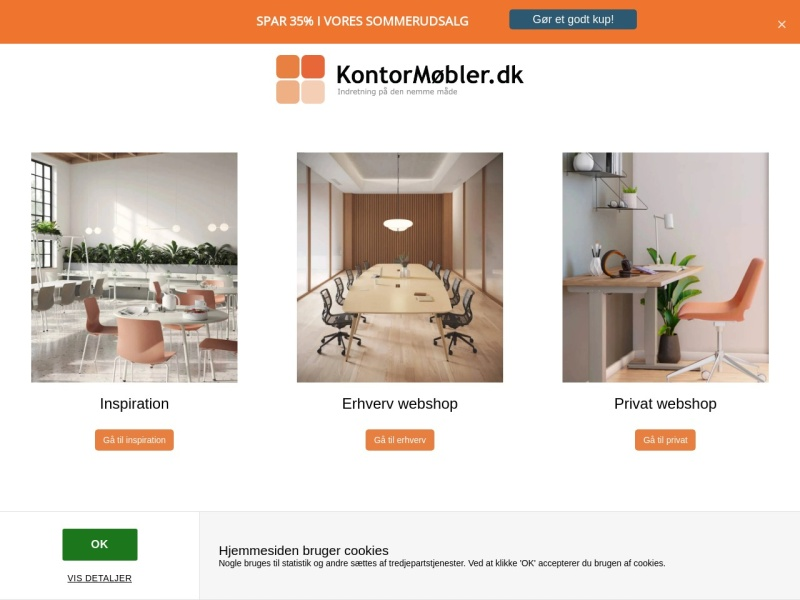 Kontormøbler.dk rabatkode