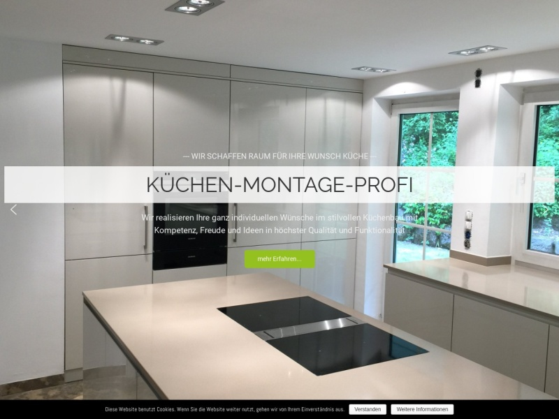 Screenshot of www.kuechen.montage-nbg.de