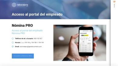 Acceso Portal del Empleado – Nómina PRO