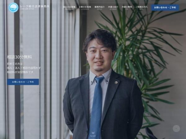 Screenshot of www.lake-law.com
