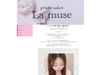 Screenshot of www.lamuse-aroma.com